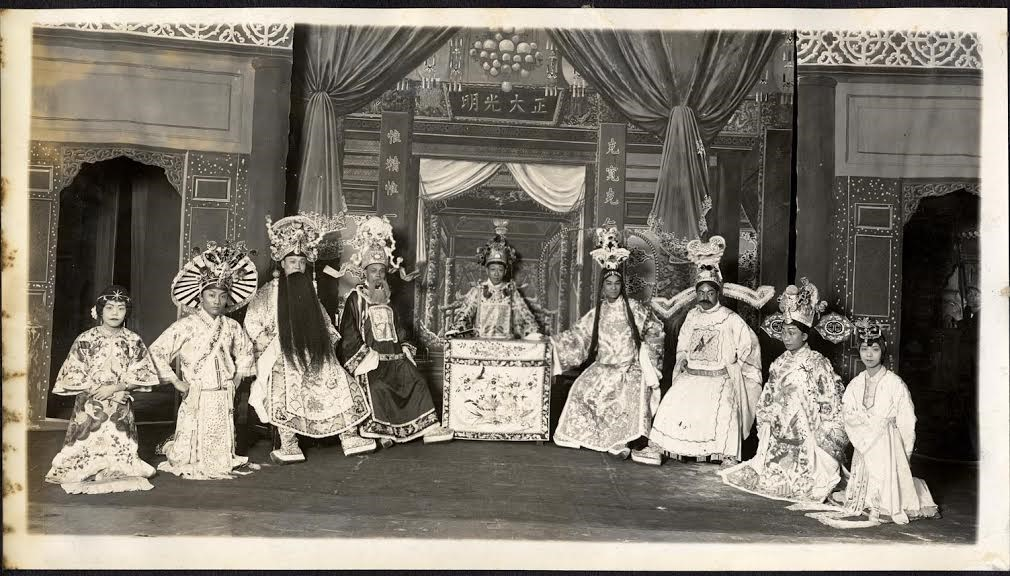 A historic Chinese Opera Performance